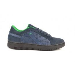 dd4b9cbc97f Εφηβικα Αθλητικα Παπουτσια Δερματινα Χρωμα Μπλε 002243