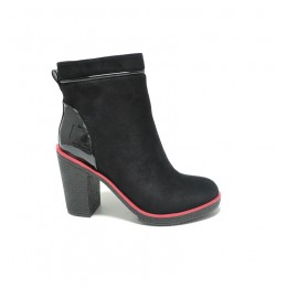 9dcdd1b8ebb Μποτακια Γυναικεια Με Τακουνι Χαμηλο Χοντρο Χρωμα Μαυρο 046305 – Παπούτσια  Τσαγγόπουλος