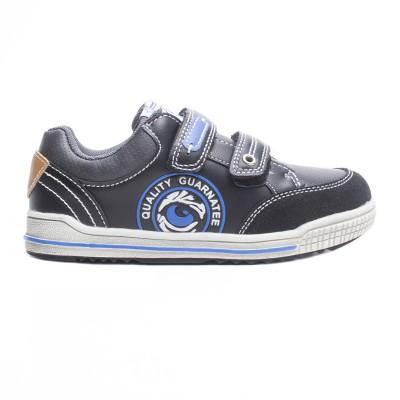 Παιδικα Αθλητικα Παπουτσια Για Αγορι με Αυτοκολλητο Χρωμα Μαυρο 016264 f4f6aecbfdf