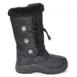 5e0bd1af682 Μποτες Γυναικειες Snowboots Χρωμα Μαυρο 138058