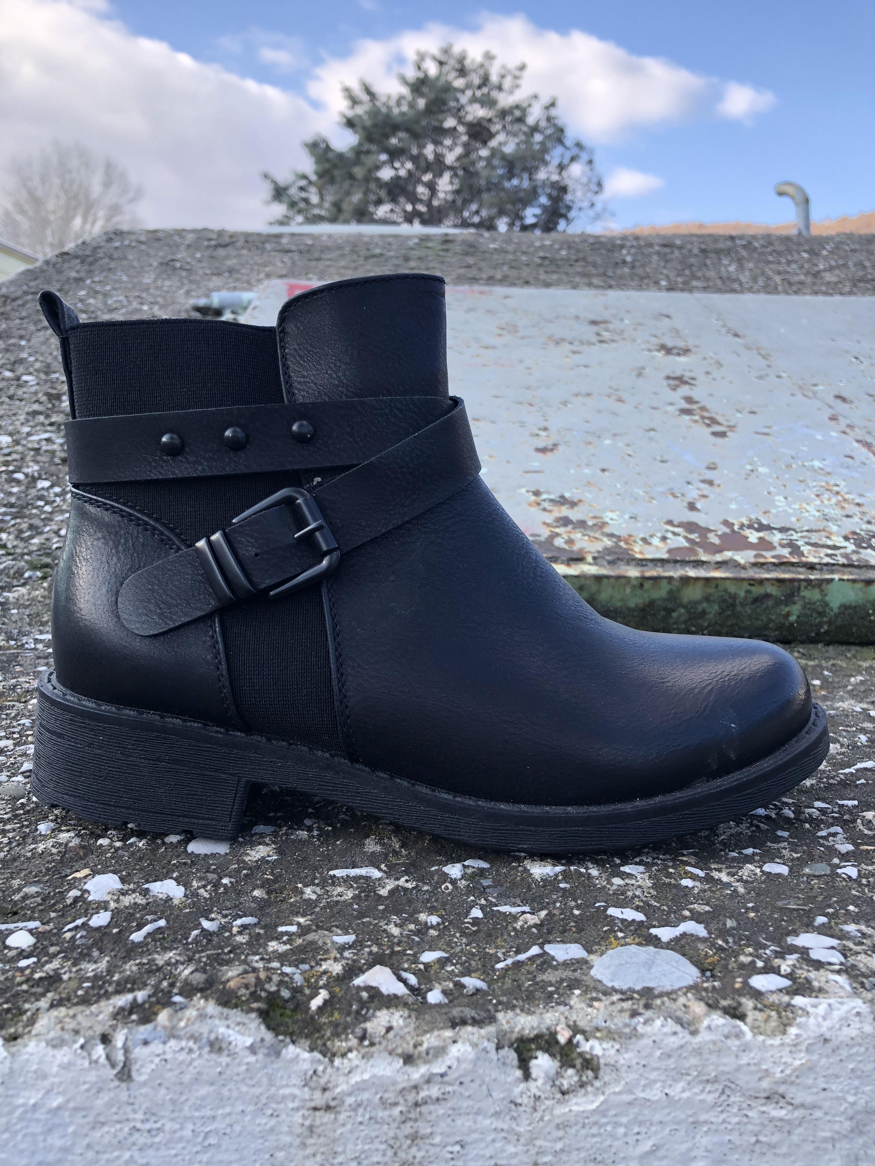 74ec623ad0a Μποτακια Γυναικεια Με Ψηλη Πλατφορμα Χρωμα Μαυρο 051698 – Παπούτσια ...
