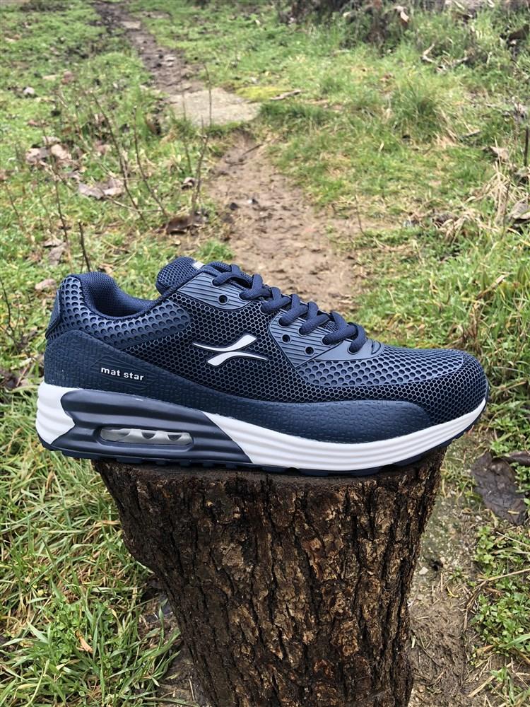250b59870ba Ανδρικα Αθλητικα Παπουτσια Αεροσολα Χρωμα Μπλε 009224