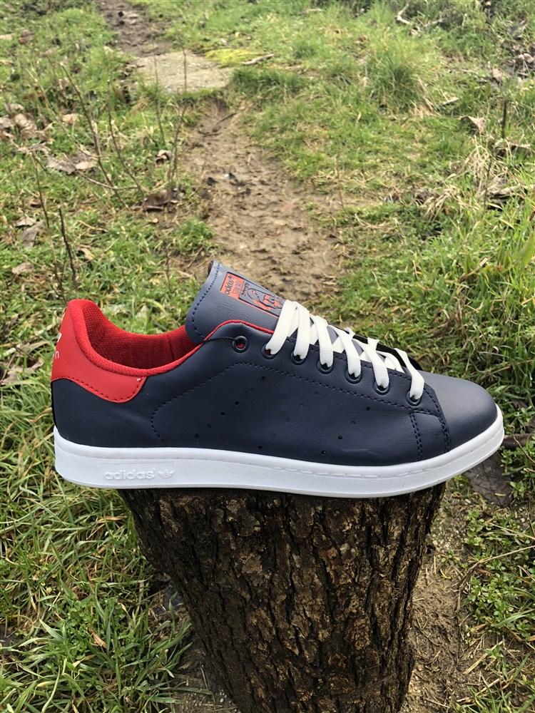 819939da8fc Ανδρικα Αθλητικα Παπουτσια STAN SMITH Χρωμα Μπλε/Κοκκινο Τ100102