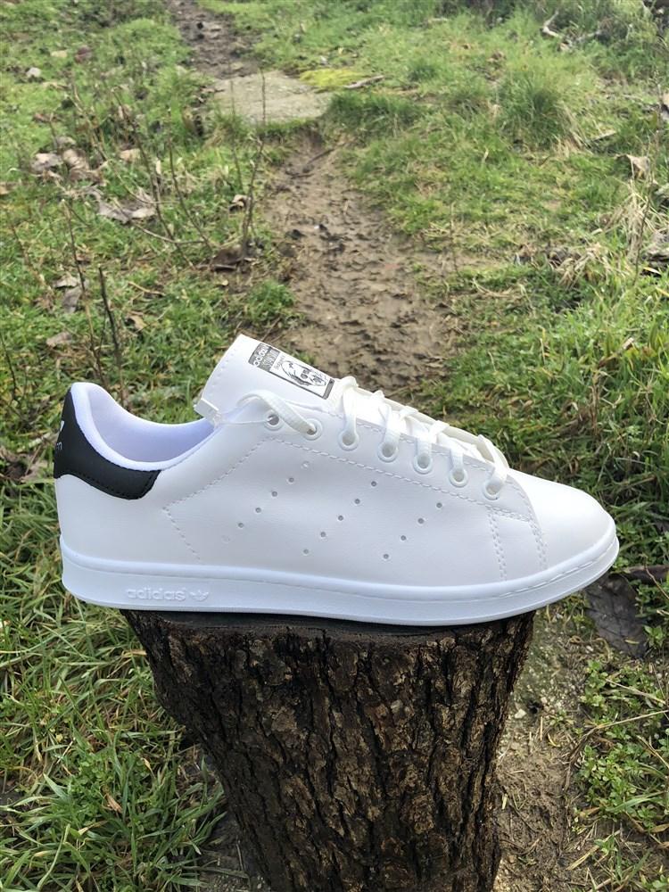 5d56d8dbb2f Ανδρικα Αθλητικα Παπουτσια STAN SMITH Χρωμα Λευκο/Μαυρο Τ100102