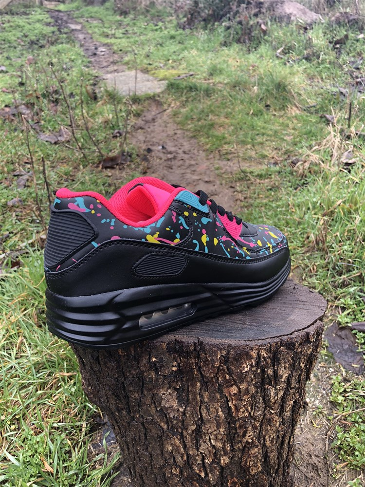 2ce3c7e5e3b Γυναικεια Αθλητικα Παπουτσια Αεροσολα Χρωμα Μαυρο 180181