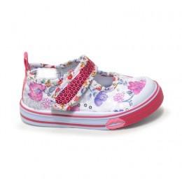 Παιδικα Αθλητικα Παπουτσια Για Μικρα Κοριτσακια Χρωμα Λευκο Ροζ 012061 5d99caa53a6