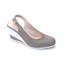 c19276872ed Γυναικεια Πεδιλα Με Χαμηλη Πλατφορμα Χρωμα Μπεζ 029119 – Παπούτσια ...