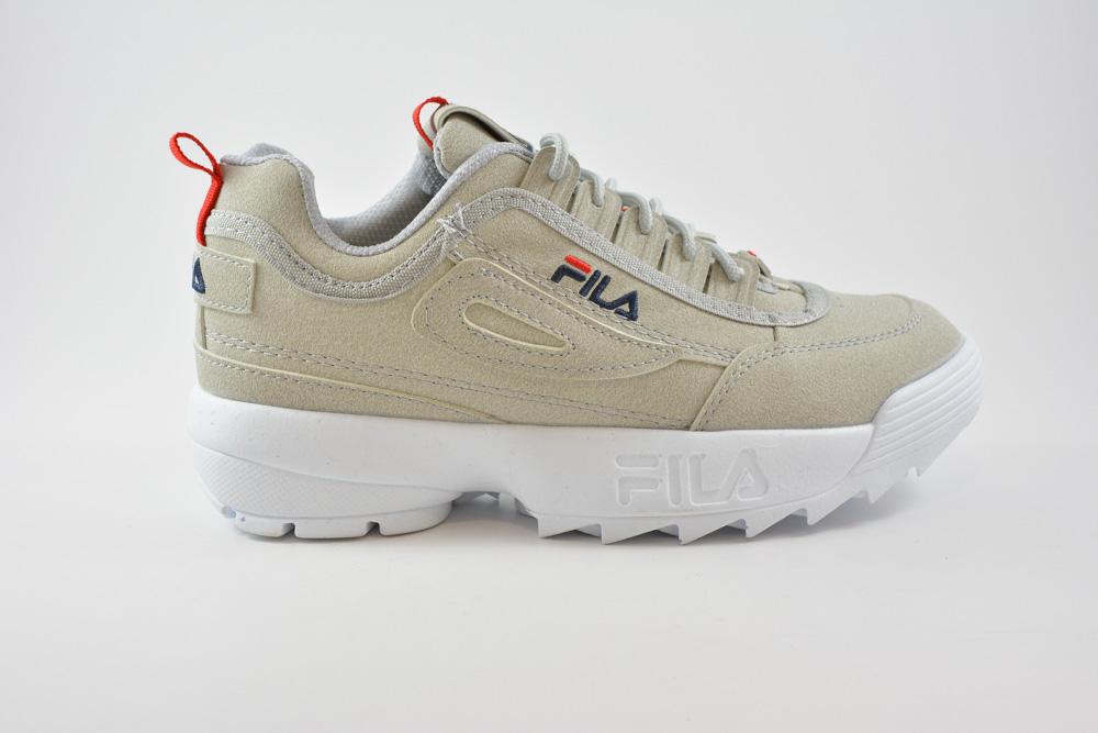 5a7ff834a89 Γυναικεια Αθλητικα Παπουτσια Fila Σε Suede Χρωμα Γκρι Τ005663 ...